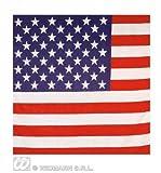 Usa American Stars And Stripes Flag Bandana 55X55Cm Biker Head Wrap Scarf