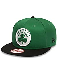 New Era Nba Team 9fifty Boston Celtics Offical Team Colour, Casquette de Baseball Homme