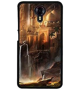 ColourCraft Beautiful Castle Design Back Case Cover for MICROMAX CANVAS XPRESS 2 E313