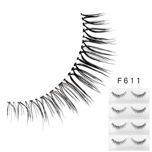 Fanxing 3D Falsche Wimpern Natürliche Lang Dicke Eye Wimpern falsche Wimpern Fake False Eyelashes