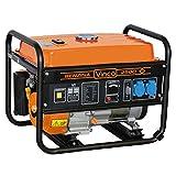 Vinco 60122 Generatore di Corrente, 2.8 Kw, Nero, 60x43x46 cm