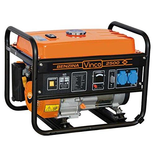 Vinco 60122 Generatore di Corrente Vinco, 2.8 Kw, Nero
