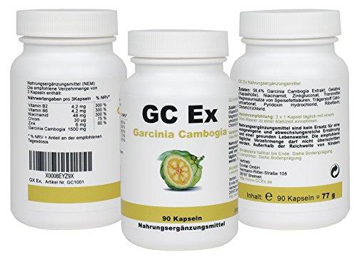 GC Ex, Garcinia Cambogia Extract