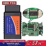 HANO ELM327 OBD2 Scanner lecteur de codeur WiFi super Mini USB 327 OBD outil de Voiture Orme ELM327 V1.5tooth PIC18f25K80: Chine, v1.5 WiFi
