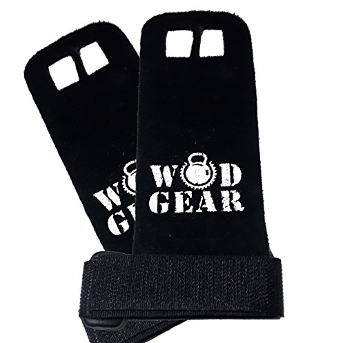 Revolution-Training-Gymnastics-Hand-GuardPalm-Protectors-Leather-by-WODGEAR-Perfect-for-Crossfit-Pull-ups-Kettlebells-and-Barbells-workouts-No-More-Rips-or-Tears