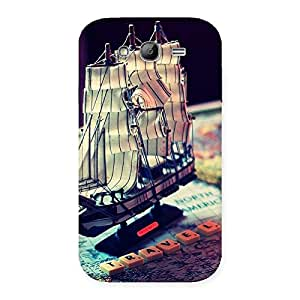 Stylish Travel ship Multicolor Back Case Cover for Galaxy Grand