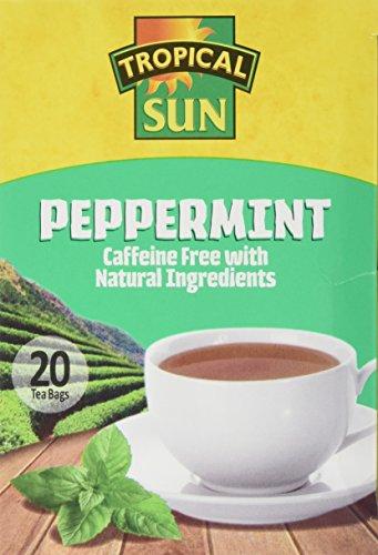 Tropical Sun Peppermint Tea (Pack of 6)