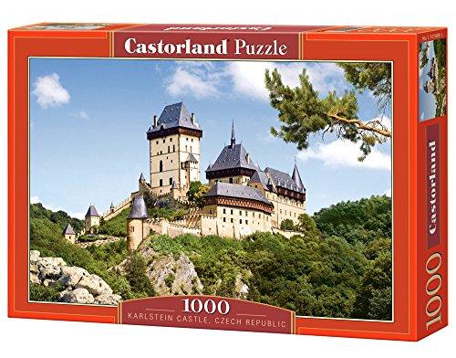 Castor 101498 - Castello Karlstein della Repubblica Ceca - Puzzle 1000 pezzi