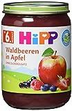 Produkt-Bild: HiPP Früchte Waldbeeren in Apfel, 6er Pack (6 x 190 g)