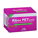 Mangime complementare per cani e gatti (integratore) utile in caso di lesioni della pelle, irritazioni e allergie cutanee - Ribes Pet 30 perle