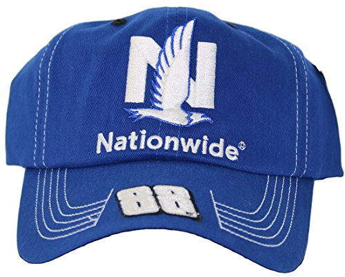 Checkered Flag NASCAR Dale Earnhardt Junior # 88 Nationwide Qualifier Serie Erwachsene Verstellbare Kappe Hat Dale Earnhardt Jr Cap