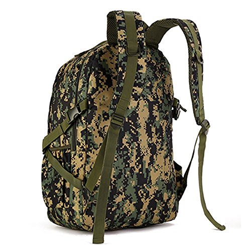 GOUQIN Zaino Outdoor Classico Moda Sacchetti Di Arrampicata 40L Outdoor Da Viaggio Di Massa Doppia Borsa A Tracolla, Camouflage ,40L 55L