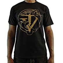 Tyger Vinum Men's Hip-Hop Couture Limited Edition Black Short Sleeve t-Shirt