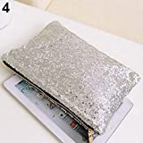 Fashion Women Glitter Sparkling Sequins Dazzling Clutch Evening Party Bag Handbag Bling Purse