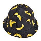 ZLYC Casquette de pêcheur d'extérieur pour homme / femme (unisexe) avec design imprimé funky d'une banane