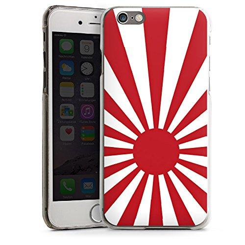 Apple iPhone 5s Housse étui coque protection Marine Japon Japon Drapeau CasDur transparent