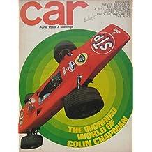CAR magazine 06/1968 featuring Lotus Elan +2 road test, Simca, Morris traveller
