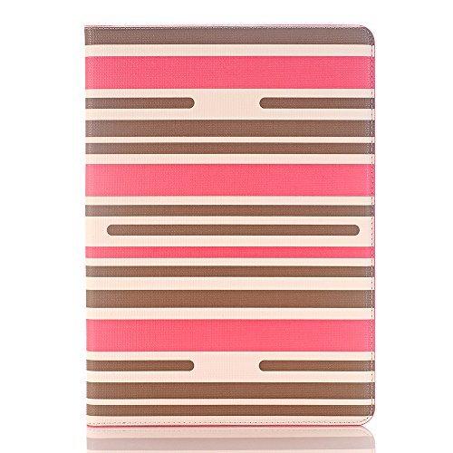 Hülle für iPad air 2, TechCode PU Leder Luxus Bookstyle Folio Etui Abdeckung Stand Magnetic mit Smart Auto Sleep / Wake Feature Schutzhülle für Apple iPad air 2 (iPad air 2, A02) A03