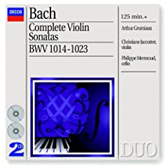 J.S. Bach: Sonata for Violin and Harpsichord No.2 in A, BWV 1015 - 3. Andante un poco