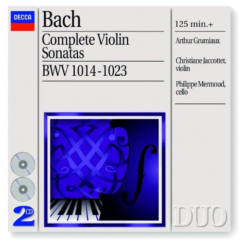 J.S. Bach: Sonata for Violin and Harpsichord No.3 in E, BWV 1016 - 1. Adagio