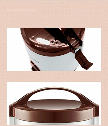MEZ Mini Rice Cooker Single Student Dormitory Small Rice Cooker 1-2 People,Brown