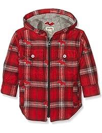 Hatley Boy's Plaid Flannel Hooded Jacket