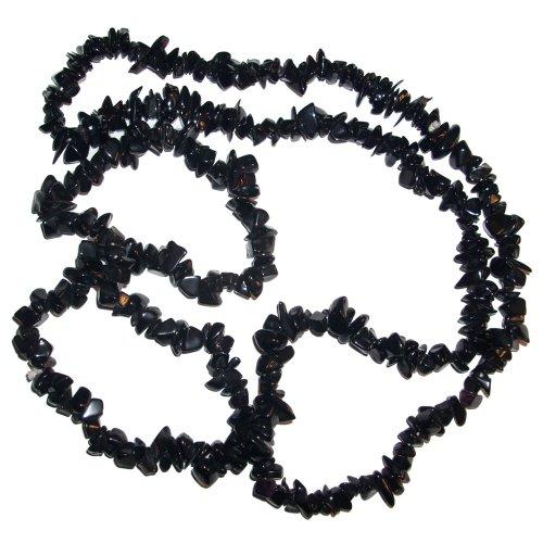 collar-piedritas-irregulares-black-stone-90-cm-piedra-semi-preciosa-negra-joya-accesorio