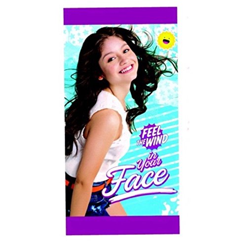 Toalla playa Soy Luna Disney Face microfibra
