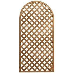 Papillon 8043005 - Juego de Paneles Celosia Arco Madera 180x90 cm (3 piezas)