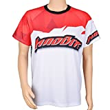 [CLEARANCE] - MadBite Short Sleeve T Shirt Ultra Performance 97% Polyester Spandex Blend SPF 50 for Super Soft Shirts with Official MadBite Logos