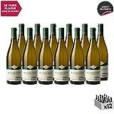 Bourgogne Aligoté Blanc 2015 - Domaine Eric Montchovet - Vin AOC Blanc de Bourgogne - Cépage Aligoté - Lot de 12x75cl