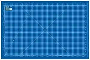 Pavo 8002931 Tapis de découpe A1, 900 x 600 mm, bleu