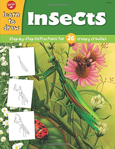 insects-step-by-step-instructions-for-26-creepy-crawlies-draw-and-color-walter-foster
