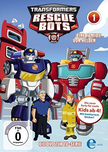 Transformers: Rescue Bots - Eine Familie von Helden, Folge 1 (Dvd-transformers)