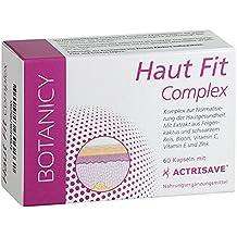 HAUT FIT Complex mit Actrisave® - Natürlicher Wirkkomplex gegen Akne & Haarausfall (60 Kapseln, reicht bis zu 30 Tage)