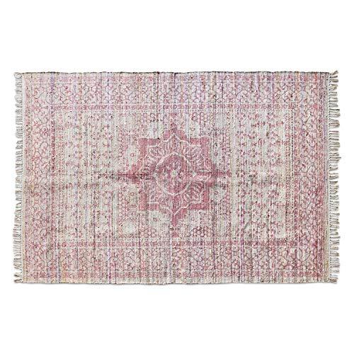 Loberon Teppich Garet, Seide/Baumwolle, H/B ca. 170/240 cm, rot