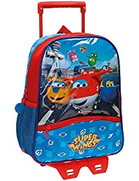 Super Wings 49122M1 Airport Mochila Infantil, 33 cm, 9.8 Litros, Multicolor
