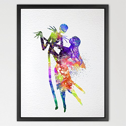dignovel-studios-a4-jack-skellington-and-sally-the-nightmare-before-christmas-watercolour-halloween-