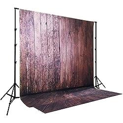 1.5*2.2m(150*220m) Wallpaper fotografía telón de fondo de madera Floordrop Custom Prop foto telón de fondos XT-546