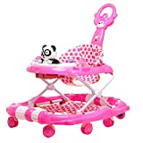 #3: Tiffy & Toffee Delight Baby Walker with Rocker (Rose Pink)
