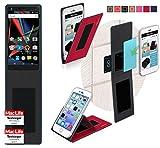 reboon Hülle für Archos Diamond 2 Note Tasche Cover Case Bumper | Rot | Testsieger