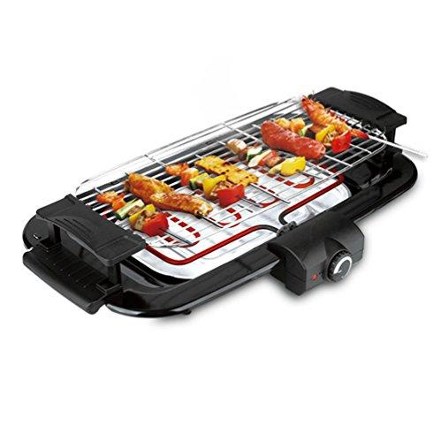 LJIE Haushalts-Grill-Regal-Rauchfreier Grill-Haushalts-Elektrischer Grill-Fleisch-Maschinen-Elektrischer Ofen-Grill
