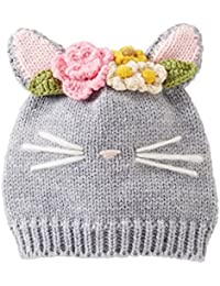 Mud Pie Baby Girls Seasonal Knit Hat