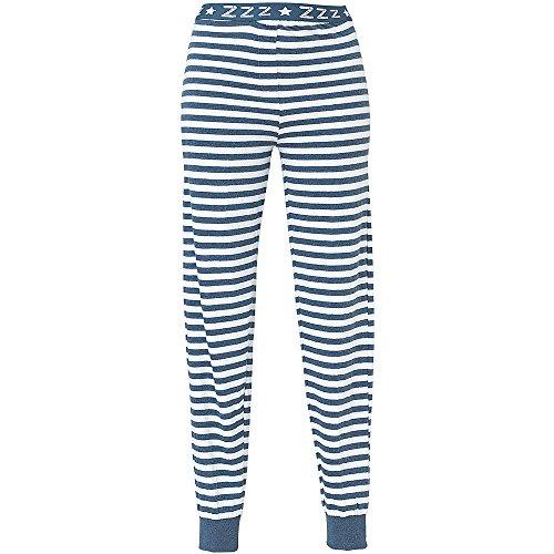 - 514jrneR9oL - Love To Sleep Long Leg Striped Soft Jersey Women's Loungewear Pyjama Bottoms