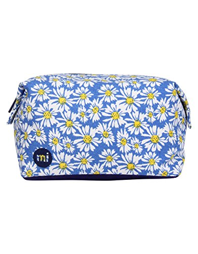 Mi-Pac Accessories Trousse de Toilette, 33 cm, Daisy Crazy Blue