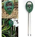 gaddrt 3-in-1comprobador de suelo la humedad metros, luz y PH acidez probador, planta suelo Tester Kit, científicamente precisa Sonda ideal para el jardín, granja, césped, interior y exterior