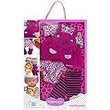 Nenuco - Ropita con diseño de gatito rosa, 3 piezas, para muñeco de 35 cm (Famosa 700012690A)
