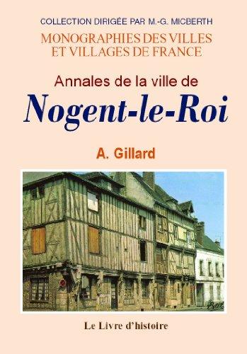 Nogent-le-Roi (Annales de la Ville de)
