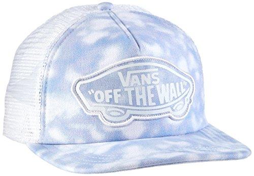 Vans Damen Baseball Cap, Beach Girl Trucker Hat, GR. One size (Herstellergröße: One Size), Blau (Tie Dye/Palace Blue) (Tie Cap Baumwolle Dye)