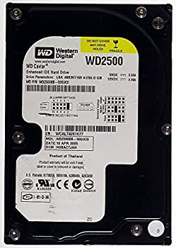 250gb Hdd Western Digital Wd Caviar Wd2500bb Ide Id13294 0